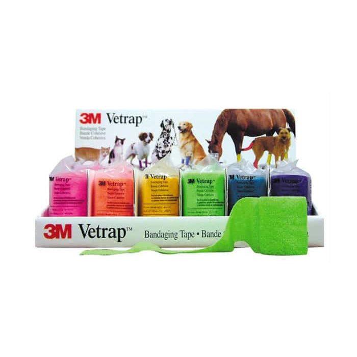 3M Vet Wrap Pet Bandaging Tape: 4 inch rolls
