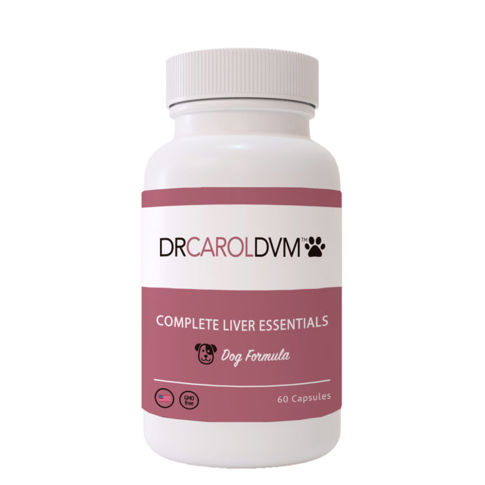 Dr. Carol's Complete Dog Liver Essentials Supplement