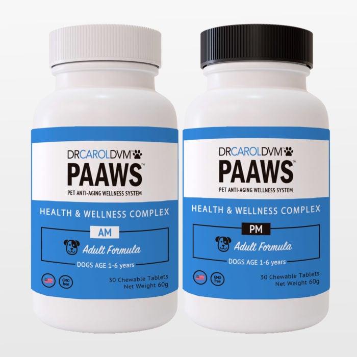 Dr. Carol's PAAWS Dog Vitamins: Small Dog