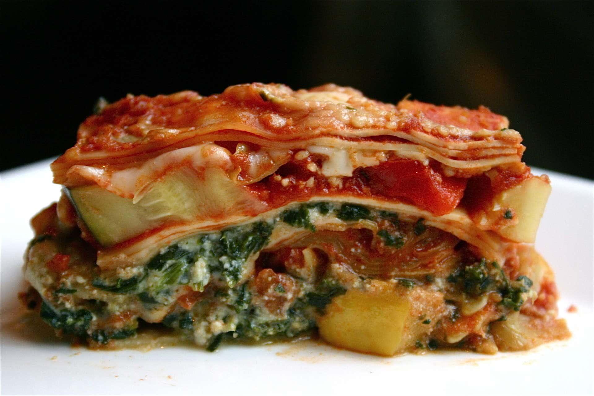 Beef & Veggie Laboradoodle Lasagna